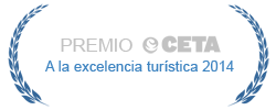 Premio CETA a la excelencia turística 2014